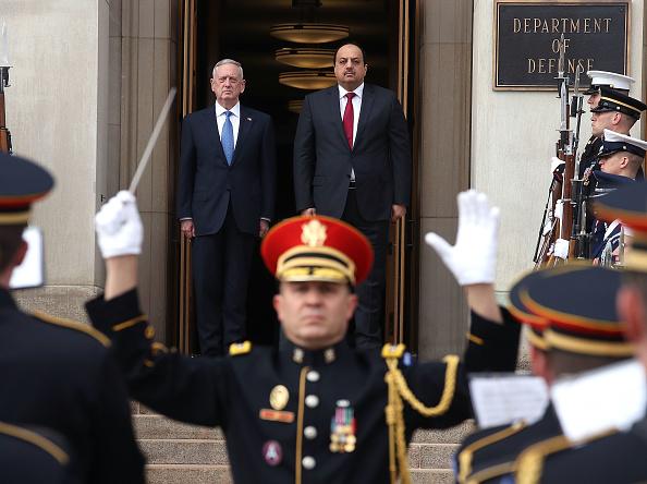 Virginia - US State「Defense Secretary Mattis Hosts Qatari Defense Minister At The Pentagon」:写真・画像(8)[壁紙.com]