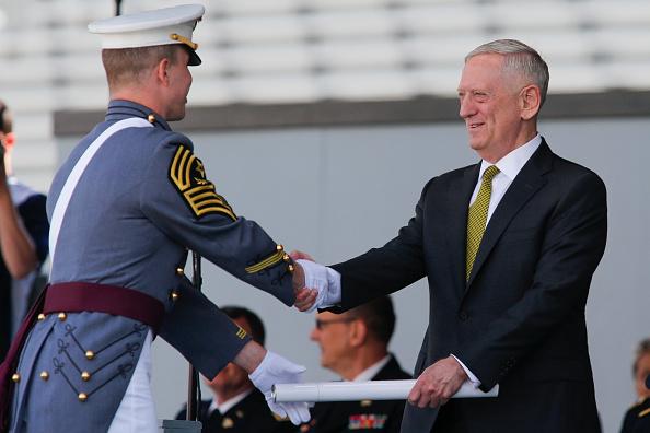 Document「Commencement Ceremony Held At U.S. Military Academy At West Point」:写真・画像(8)[壁紙.com]