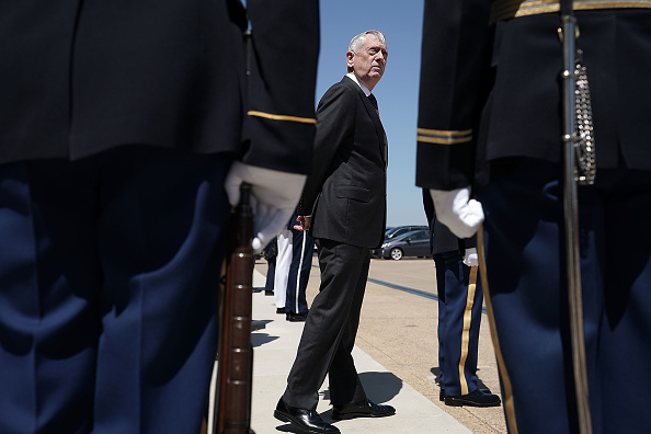 Roped Off「Defense Secretary James Mattis Hosts Honor Cordon For Qatari Minister Of Defense Khalid Bin Mohammed Al-Attiyah」:写真・画像(19)[壁紙.com]