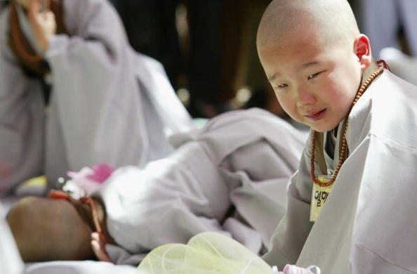 Start Button「Children Become Buddhist Monks In A Ceremony In Seoul」:写真・画像(19)[壁紙.com]