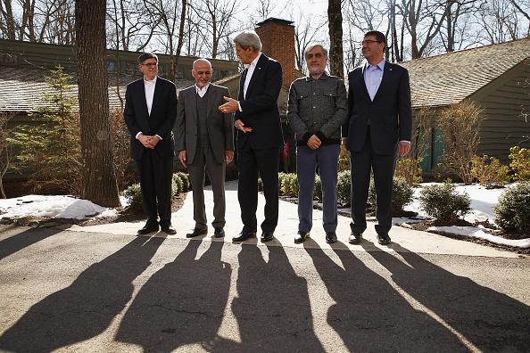 Maryland - US State「Secretary Of State John Kerry Hosts Afghan Presidential Delegation At Camp David For Diplomatic Talks」:写真・画像(2)[壁紙.com]