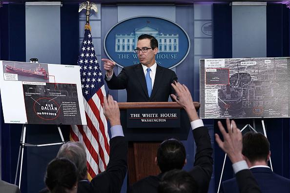 Incidental People「Treasury Secretary Steven Mnuchin Discusses New Sanctions Against North Korea」:写真・画像(19)[壁紙.com]