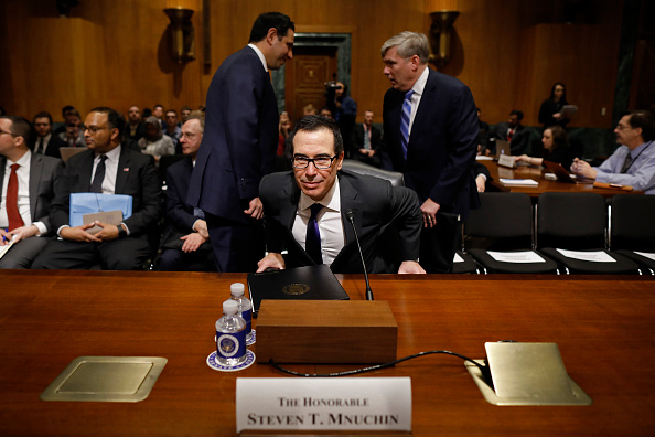 Aaron P「Treasury Secretary Steven Mnuchin Testifies To Senate Finance Committee On Dept's Budget」:写真・画像(11)[壁紙.com]
