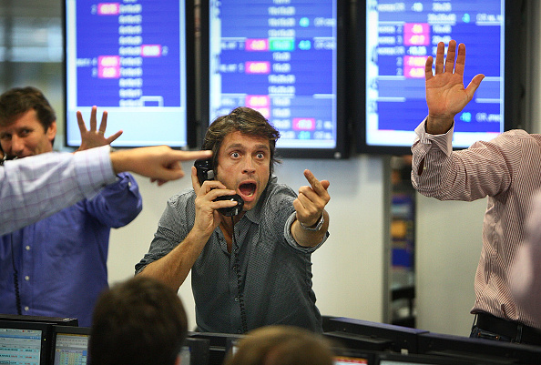 Trader「ICAP Brokers Continue To Trade During Financial Turmoil」:写真・画像(11)[壁紙.com]