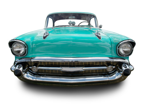 Sports Car「Torquoise 1957 Chevy」:スマホ壁紙(15)