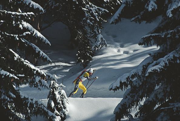 Skiing「XVI Olympic Winter Games」:写真・画像(8)[壁紙.com]