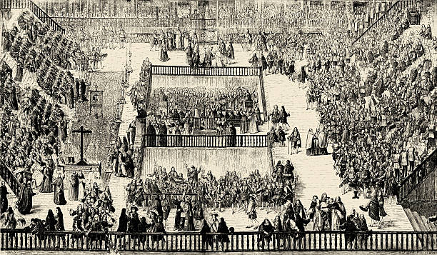 Auto da fe in the Plaza Mayor, Madrid 1680:ニュース(壁紙.com)