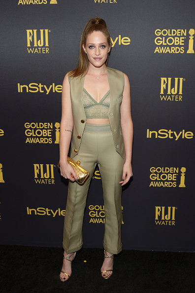 Fully Unbuttoned「Hollywood Foreign Press Association And InStyle Celebrate The 2017 Golden Globe Award Season」:写真・画像(3)[壁紙.com]