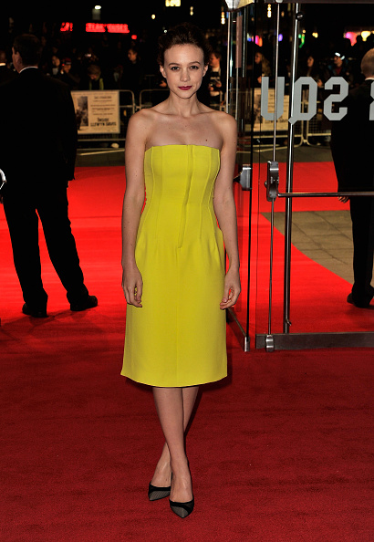 "Yellow Dress「""Inside Llewyn Davis"" - Centrepiece Gala Supported By The Mayor Of London - Red Carpet Arrivals: 57th BFI London Film Festival」:写真・画像(7)[壁紙.com]"