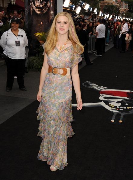 "Sleeved Dress「Premiere Of Walt Disney Pictures' ""Pirates Of The Caribbean: On Stranger Tides"" - Red Carpet」:写真・画像(1)[壁紙.com]"