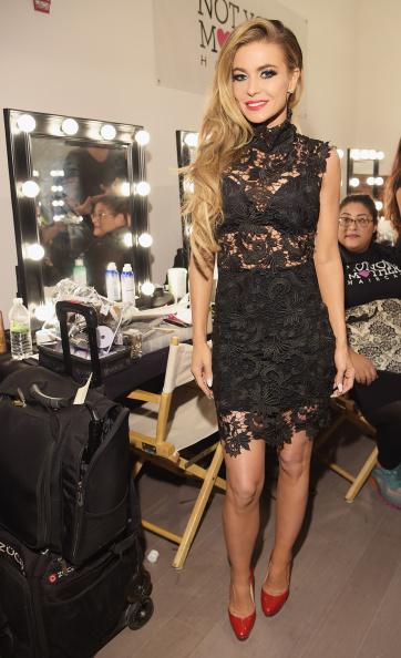 Carmen Electra「Wantmylook By Lilly Ghalichi - Backstage - Style360 Spring 2015」:写真・画像(16)[壁紙.com]