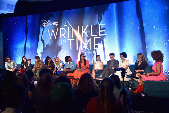 A Wrinkle in Time「'A Wrinkle In Time' Press Conference」:写真・画像(10)[壁紙.com]