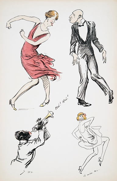 楽器「Two Transvestites And Man In Black Tie Dancing To A Saxophone」:写真・画像(15)[壁紙.com]