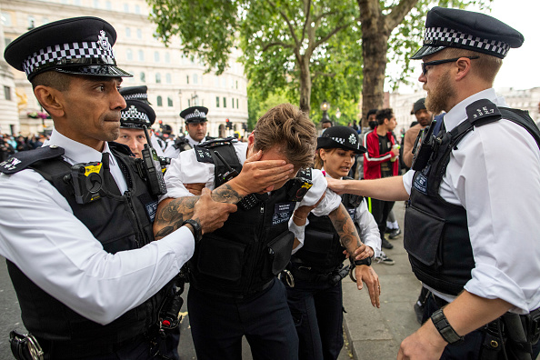 Physical Injury「Black Lives Matter Movement Inspires Protest In London」:写真・画像(0)[壁紙.com]