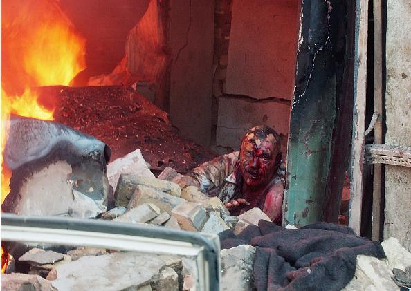 Suicide Bombing「Car Bomb Explodes In Central Baghdad」:写真・画像(12)[壁紙.com]