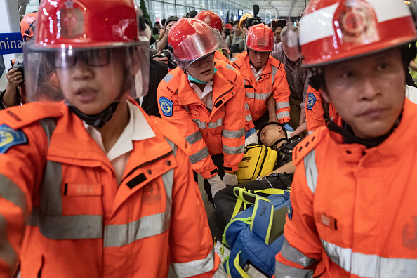 Hong Kong International Airport「Unrest In Hong Kong During Anti-Government Protests」:写真・画像(8)[壁紙.com]