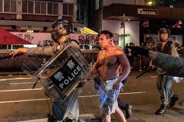 Mong Kok「Anti-Government Protests Continue in Hong Kong」:写真・画像(3)[壁紙.com]