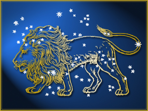 Digital Composite「Leo astrological sign」:スマホ壁紙(11)