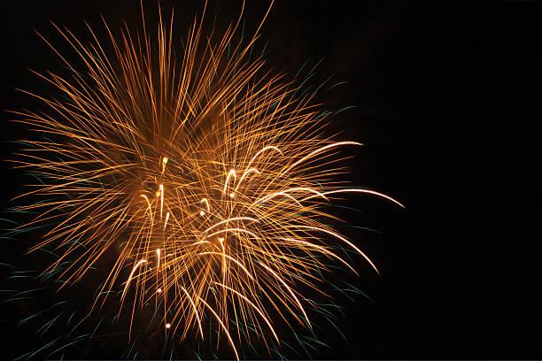 Golden 4th of July fireworks:スマホ壁紙(壁紙.com)