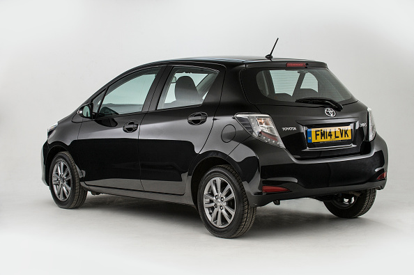Hatchback「2014 Toyota Yaris.」:写真・画像(3)[壁紙.com]