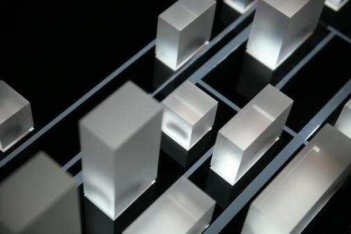 Acrylic Painting「Illuminated cubes of acryl」:スマホ壁紙(18)