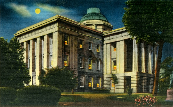 Raleigh - North Carolina「Illuminated Night View Of NC State Capitol」:写真・画像(0)[壁紙.com]