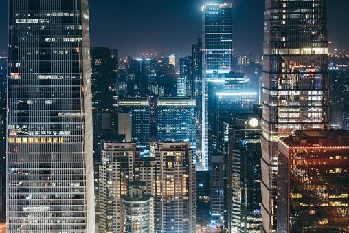 Recession「Illuminated Skyscrapers」:スマホ壁紙(13)