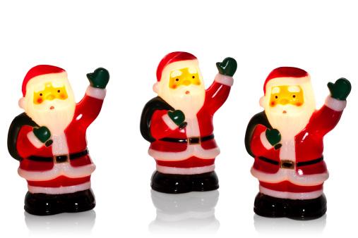 Figurine「Illuminated Santa / Father Christmas tree lights」:スマホ壁紙(8)