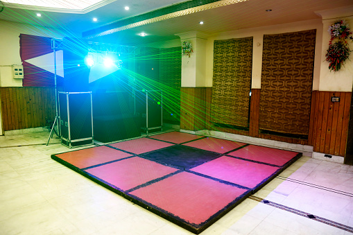 Rock Music「Illuminated disoco DJ dance floor」:スマホ壁紙(8)