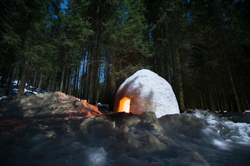 Igloo「Illuminated igloo」:スマホ壁紙(12)