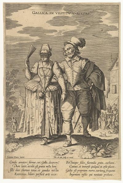17th Century「Gallica In Vestitu Varietas」:写真・画像(14)[壁紙.com]