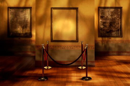 Multi-Layered Effect「Missing artwork in a gallery」:スマホ壁紙(19)