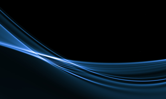 Black Background「Waves abstract background」:スマホ壁紙(15)