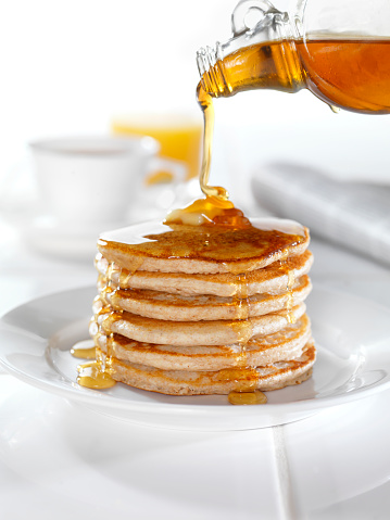 Maple Syrup「Whole Wheat Pancakes with Maple Syrup」:スマホ壁紙(12)