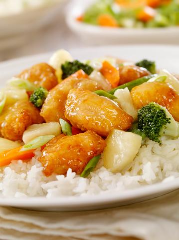 Sweet And Sour Chicken「Pineapple Chicken」:スマホ壁紙(14)