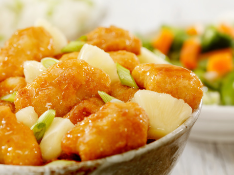 Sweet And Sour Dish「Pineapple Chicken」:スマホ壁紙(16)