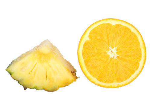 Orange - Fruit「Pineapple Chunk and Orange Slice」:スマホ壁紙(8)