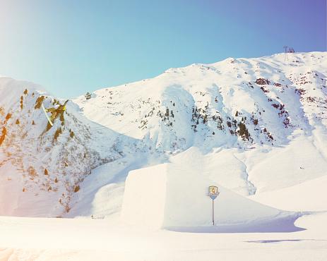 Ski Resort「Mid kicker」:スマホ壁紙(13)