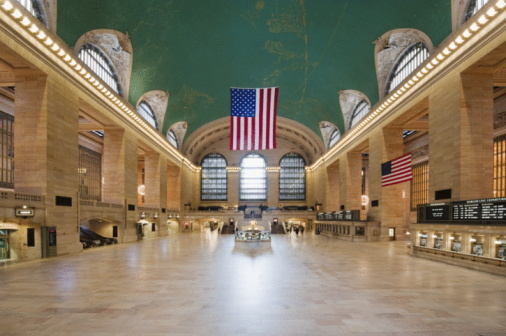 Mid-Atlantic - USA「USA, New York, New York City, Grand Central Station interior」:スマホ壁紙(19)