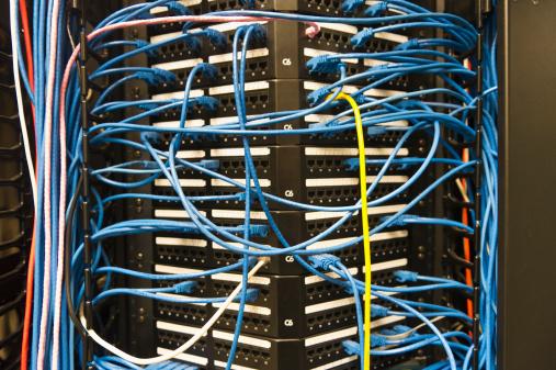 Data Center「USA, New York, New York City, Computer network server」:スマホ壁紙(0)