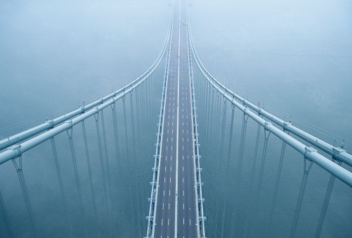 Straight「USA, New York, New York City, Brooklyn, Verrazano-Narrows Bridge」:スマホ壁紙(14)