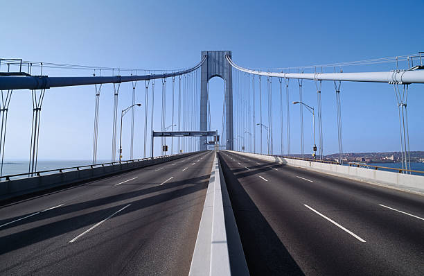 USA, New York, New York City, Brooklyn, Verrazano-Narrows Bridge:スマホ壁紙(壁紙.com)