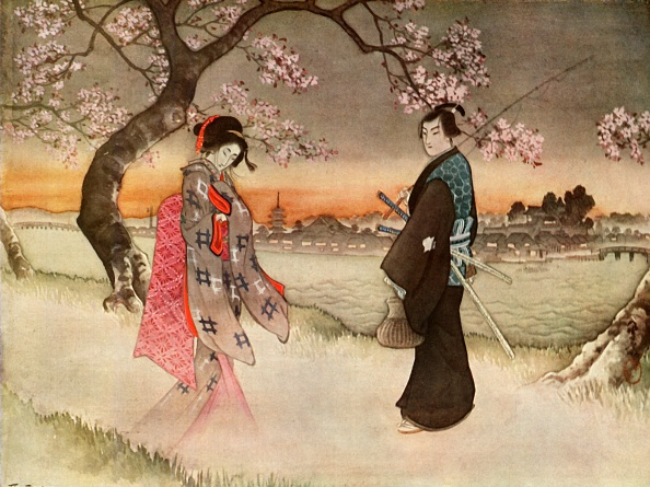 Blossom「He Was Suddenly Startled To See A Girlish Form Coming Towards Him In The Wavering Shadows」:写真・画像(12)[壁紙.com]