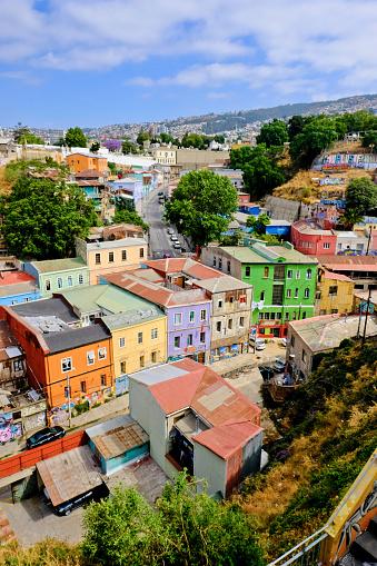 Uncertainty「City of Valparaiso, Chile」:スマホ壁紙(9)