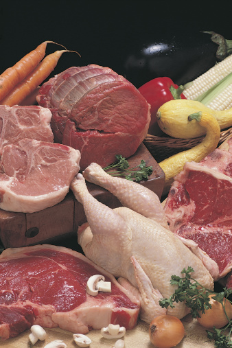 Pork「Raw meat and vegetables」:スマホ壁紙(6)