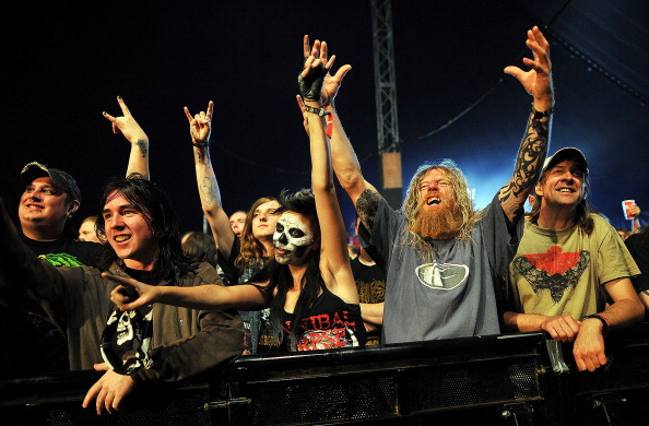 Metal「Heavy Metal Music Fans Enjoy The Bloodstock Festival」:写真・画像(16)[壁紙.com]