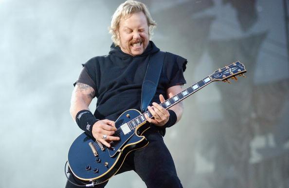 ギブソン・レスポール「Metallica Play Dublin」:写真・画像(14)[壁紙.com]