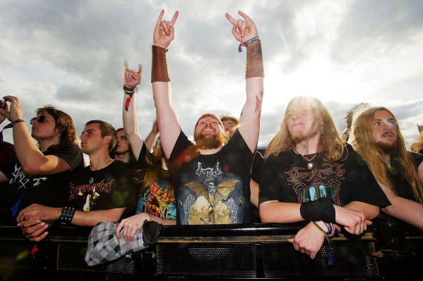 Metal「Heavy Metal Music Fans Enjoy The Bloodstock Festival」:写真・画像(0)[壁紙.com]