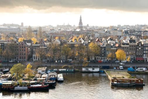 Amsterdam「Amsterdam skyline」:スマホ壁紙(11)