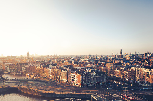Amsterdam「amsterdam skyline, the netherlands」:スマホ壁紙(19)